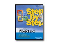 Microsoft Office Project 2003 - Step By Step - Self-training Course - CD - English (28598F)