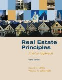 img - for Real Estate Principles: A Value Approach 3rd Edition by Ling, David, Archer, Wayne [Hardcover] book / textbook / text book