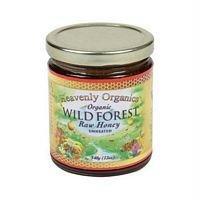 Heavenly Organics Organic Wild Forest Raw Honey Unheated -- 12 oz