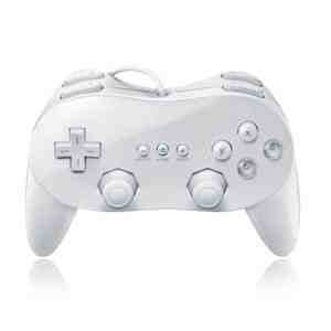 New Classic Pro Controller For Nintendo Wii White