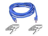 Belkin Cat-5e Snagless Patch Cable (Blue, 7 Feet)