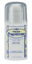 Wild Yam Progesterone Pump 3 oz