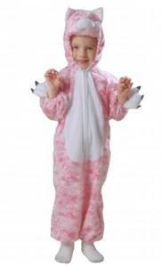 Plush Kitty Cat Halloween Dressup Play Costume Animal Xs 1-2 Years