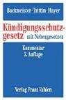 img - for K ndigungsschutzgesetz mit Nebengesetzen book / textbook / text book