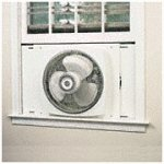 214WGBTZ8QL. SL160  Lasko Electrically Reversible Window Fan, 16 Inches, 2155A