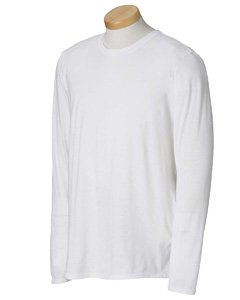 Gildan G644 4.5 Oz. Softstyle Long-Sleeve T-Shirt 2Xl Military Green