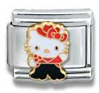 Hello Kitty Cowgirl Cat Animal Theme Licensed Charm Bracelet