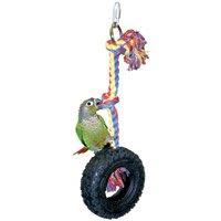 Hang Em High Tire Swings Bird Toy