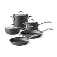 Calphalon One Infused-Anodized 8-Piece Cookware Set