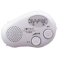 TOSHIBA 充電ラジオ TY-JR10-W