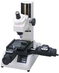 Mitutoyo 176-809A TM-510 Toolmaker's Microscope with Micrometer Heads, Contour Illumination, 30X Magnification