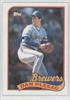 Dan Plesac Milwaukee Brewers (Baseball Card) 1989 Topps #740