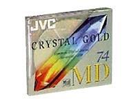 Jvc Md-74Dg / Crystal Gold Recordable Mini Disc (74 Min, Single)