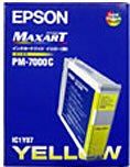 EPSON IC1Y07 インクカートリッジ イエロー(PM-7000C用)