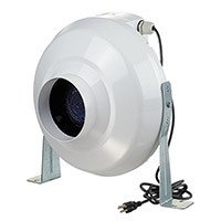 VENTS-US VK 100 In-Line Centrifugal Plastic Fan, 4-Inch