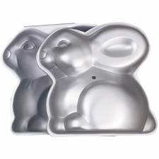 Wilton Easter 3 D Bunny Cake Tin Pan 2105 2042 Amazon Co