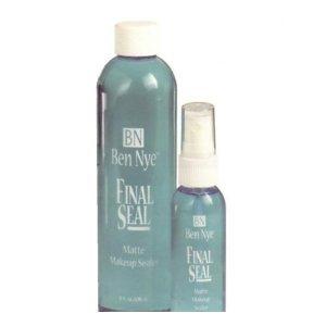Ben Nye Final Seal Matte Sealer, water resistant seal, Professional, 2oz
