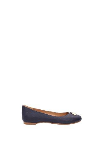 Ballerine Armani Jeans Donna Pelle Blu A5528295R Blu 36EU