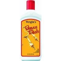 Weiman Products Llc 8Oz Brass Cleaner 345 Metal Cleaner & Polish (Wrights Brass Polish compare prices)