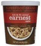 Earnest Eats Hot And Fit Cereal, American Blend, 2.35 Ounce