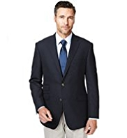 Sartorial Pure Wool 2 Button Blazer