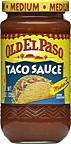 Old Taco Sauce Medium 8OZ (Pack of 24)