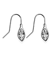 Autograph Navette Drop Earrings MADE WITH SWAROVSKI® ELEMENTS