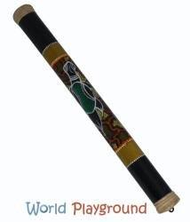 b ton de pluie bambou en style aborig ne 80 cm. Black Bedroom Furniture Sets. Home Design Ideas