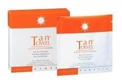 Tan Towel Full Body Towelettes, Classic, 0.27 lb.