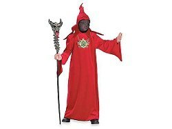 Dark Wizard Deluxe Child Halloween Costume: Size 4-6