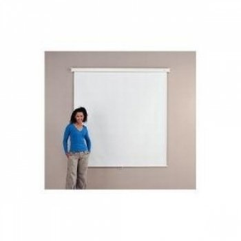 METROPLAN 210302E Budget Projection Screen Square Format (150cm x 150cm) Wide Wall/Ceiling Screen