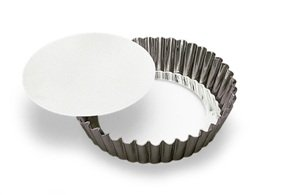 Gobel Medium Loose Removable Bottom Tart Flan - 11-7/8