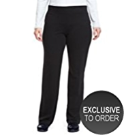 Plus Cotton Rich Straight Leg Joggers with StayNEW™