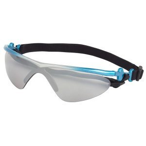 Doggles K9 Optix Blue Rubber Gradient Frame with Smoke Lens Sunglasses, Small