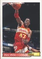 Kevin Willis Atlanta Hawks 1993 Upper Deck Autographed Hand Signed Trading Card. by Hall+of+Fame+Memorabilia