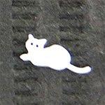 Jewelry Nail 猫ー5 ホワイト LPー0142W