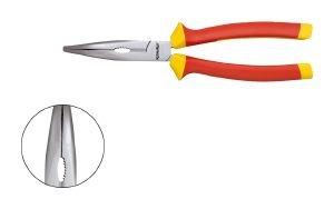 klauke-textron-pince-a-becs-demi-rond-isolee-1000-v-205-mm