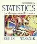 Statistics for Management and Economics (0534371450) by Keller, Gerald