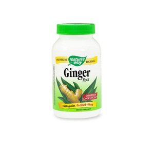 Nature's Way Ginger Root, 550 mg, 100 Capsules from Nature's Way