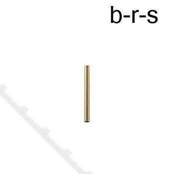 ブラシキャップ 口径約9.3mm ゴールド