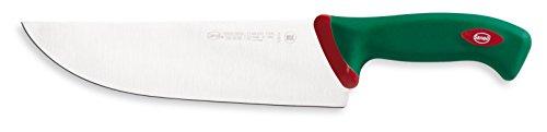 Sanelli Premana Coltello Affettare, Acciaio Inossidabile, Verde, 24 cm