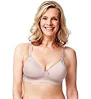 Post Surgery Elegance Embroidered Padded A-DD Bra