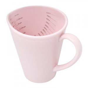 BlissHome Nigella Lawson's Living Kitchen Measuring Jug, 1-Liter, Rosebud Pink by Bliss Home DDP