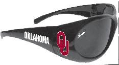 NCAA Officially Licensed Oklahoma Sooners Wrap Polarized Sunglasses