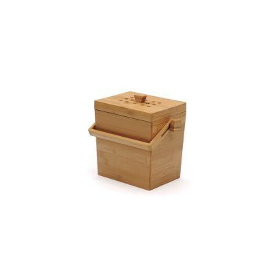 RSVP-45-Quart-Square-Bamboo-Compost-Pail
