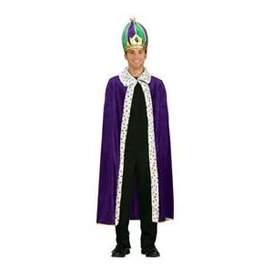 Click to buy Mardi Gras King Robe and Crown Setfrom Amazon!