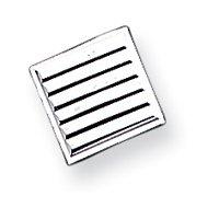 Sterling Silver Tie Tac - JewelryWeb