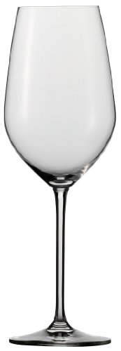 Schott Zwiesel Stemware Fortissimo Collection Tritan Crystal Bordeaux, Red Wine Glass, 22-Ounce, Set of 6 (Titanium Crystal Wine Glasses compare prices)