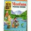 img - for Montana Puzzle Book (Highlights Which Way USA?, Montana) book / textbook / text book
