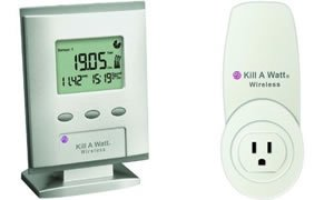 P3 P4200 KILL-A-WATT(R) WIRELESS MONITOR WITH CARBON FOOTPRINT METER